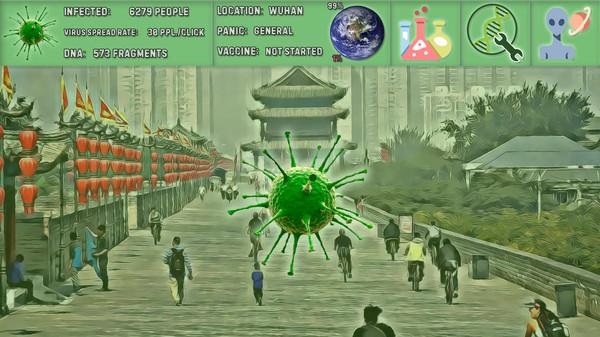 Simulador de coronavirus