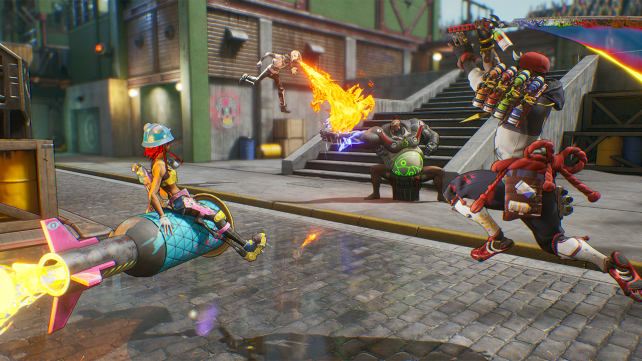 Bleeding Edge debütiert heute auf PC und Xbox One »Lassen Sie uns über Videospiele sprechen
