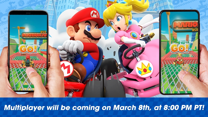 Rev Your Engines Real Time Multiplayer Is Coming To Mario Kart