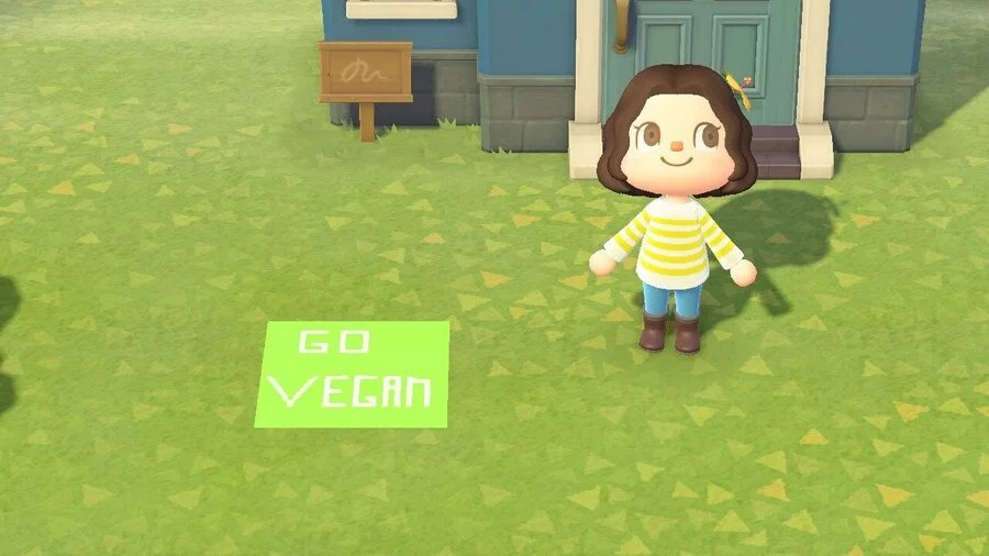Animal Crossing Veganisten