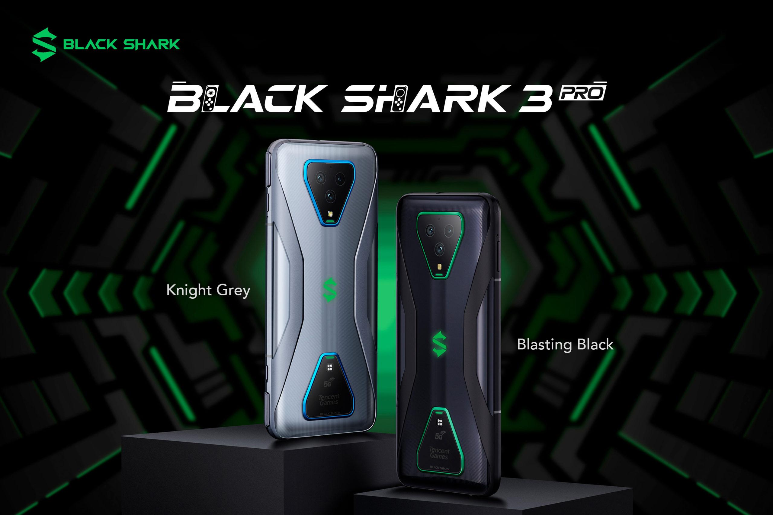 Black Shark Unveiled The World First 5g Gaming Smartphone Black Shark 3 Black Shark 3 Pro And Black Shark Bluetooth Earphones 2 Parliamo Di Videogiochi