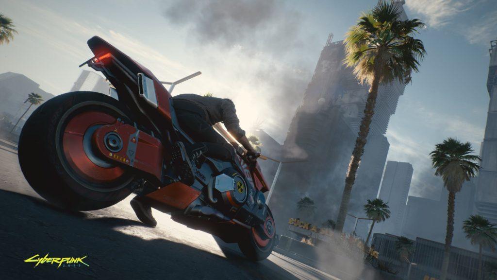 Cyberpunk 2077 Motorrad