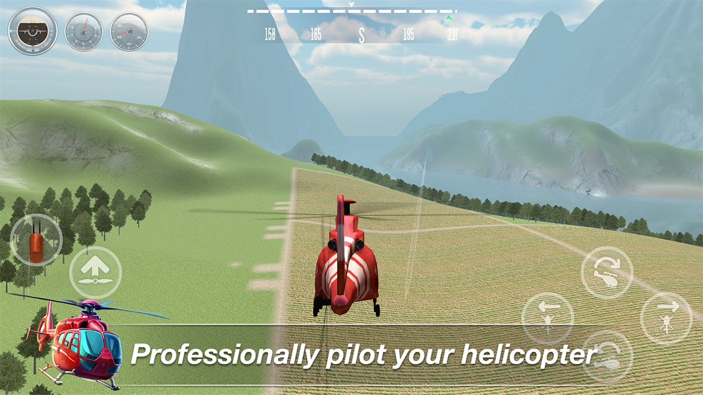 Helicopter Flight Simulator Gameplay