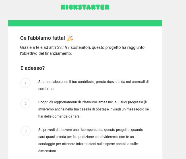 Wonderful 101 Kickstarter