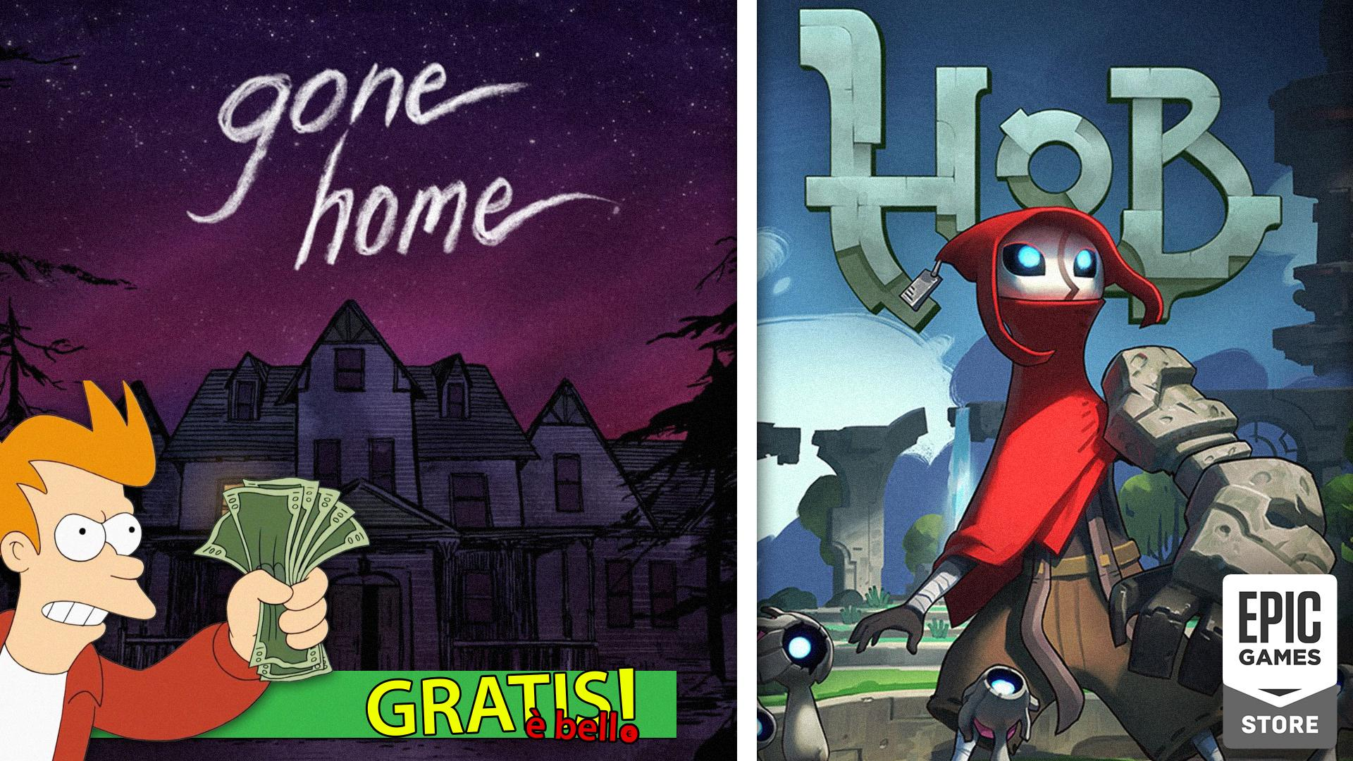 Free Is Beautiful Gone Home And Hob On Epic Games Store Let S Talk About Video Games