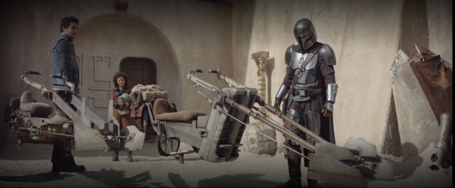 The Mandalorian Episode 5 Speeders