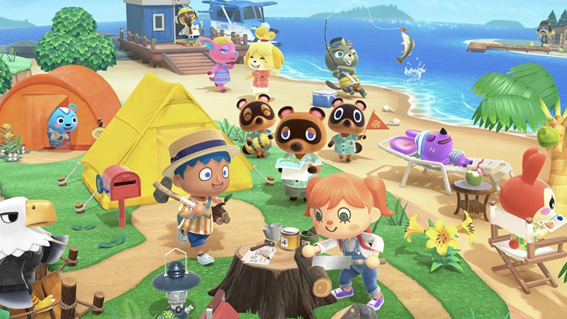 Animal Crossing New Horizons Trailer For The First Summer