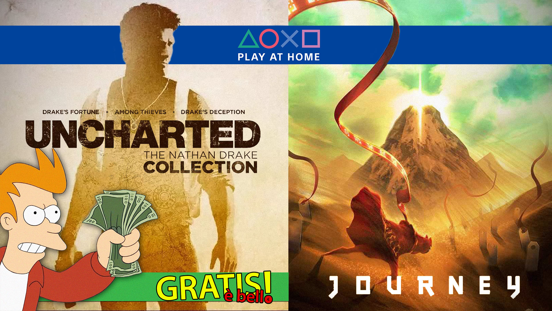 Free Is Beautiful Journey And Uncharted The Nathan Drake Collection Let S Talk About Video Games