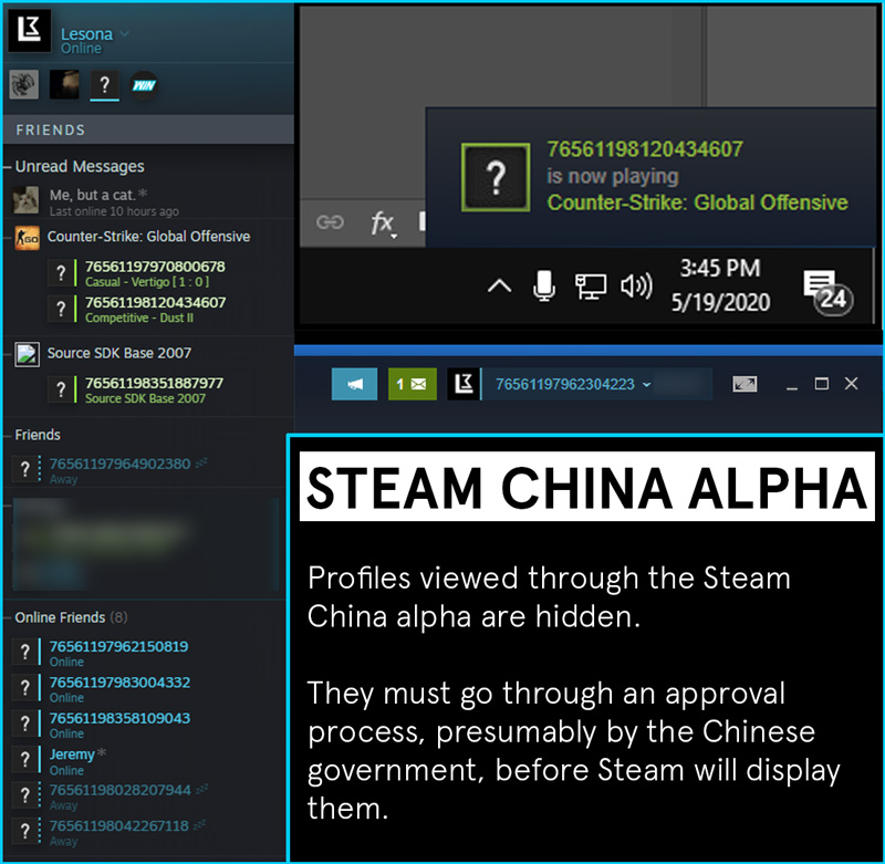 Steam China Alpha版