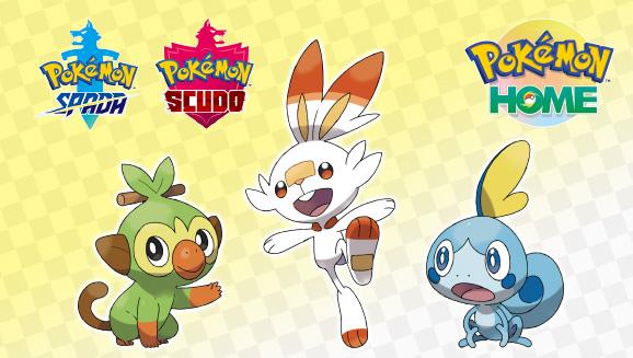 Pokémon HOME Starters