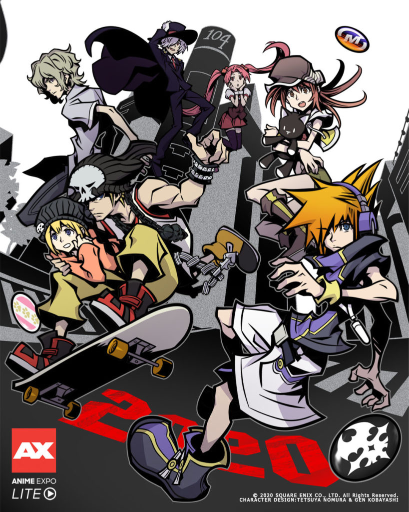 The World Ends with You Anime Expo Square Enix