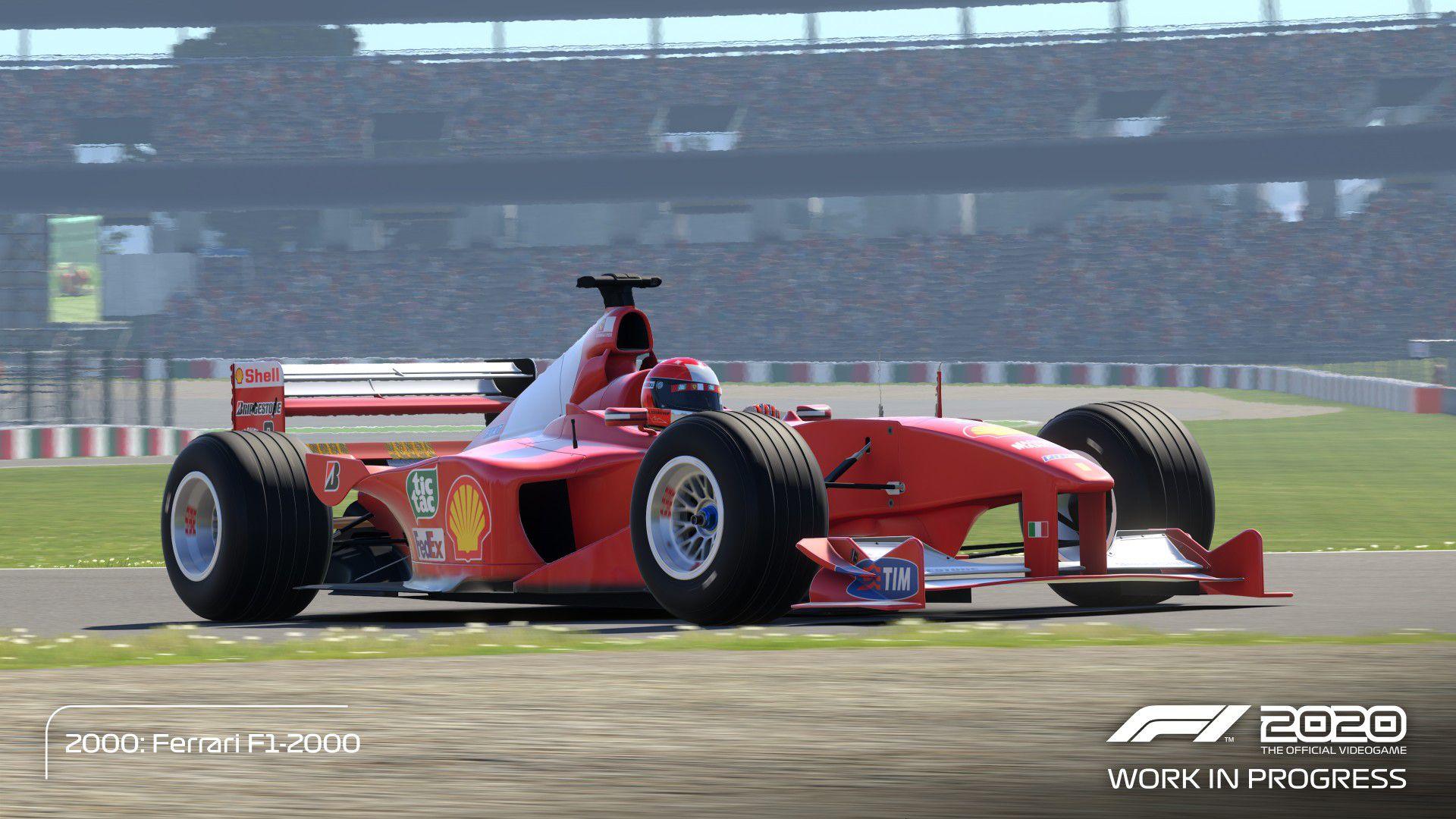 F1 2020, un teaser ci mostra la Deluxe Schumacher Edition