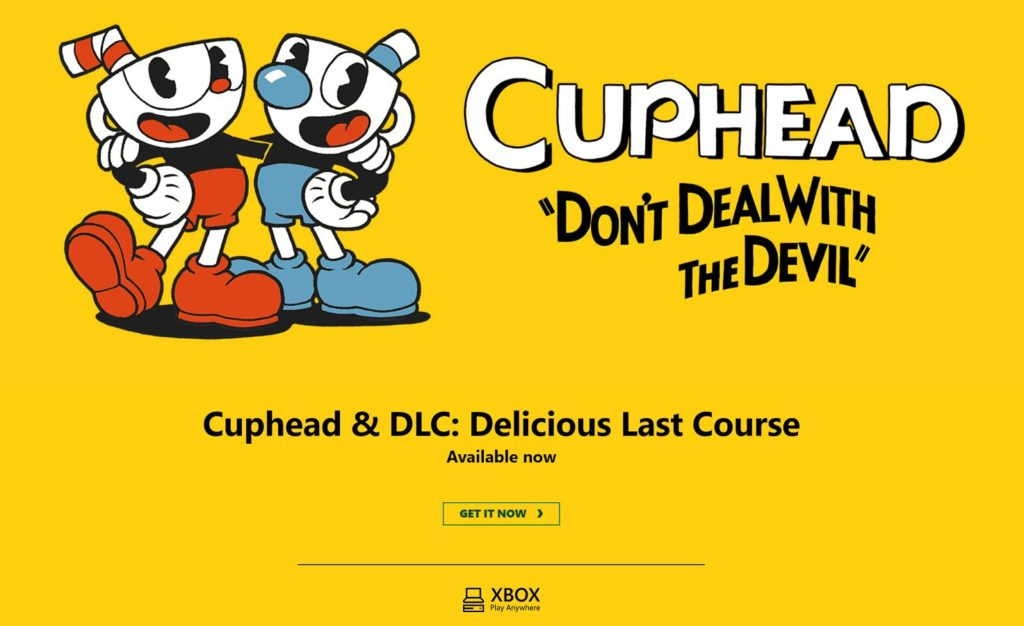 Cuphead: The Delicious Last Course PS4 Xbox One Nintendo Switch Steam
