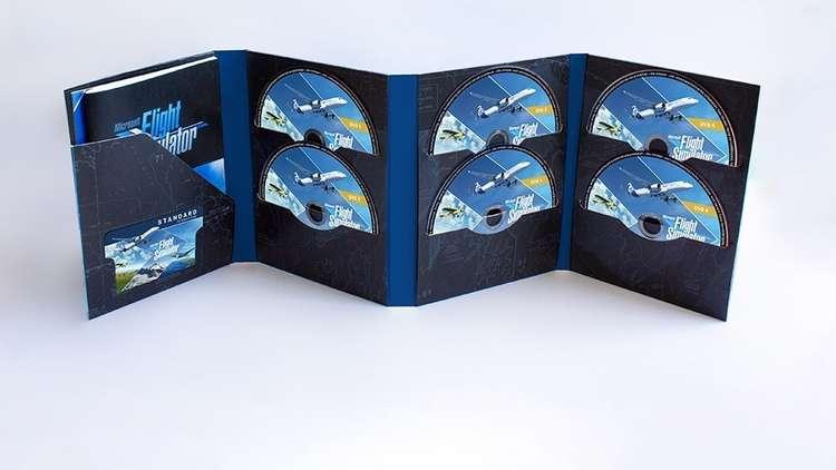 Microsoft Flight Simulator-schijven