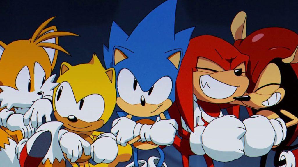 SEGA Sonic 2D 3D Sonic Team