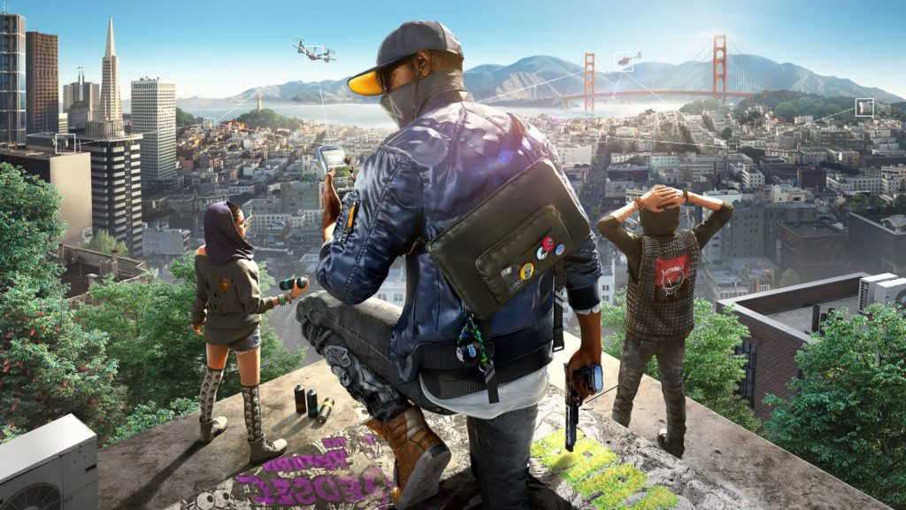 Attaquant Ubisoft Watch Dogs 2