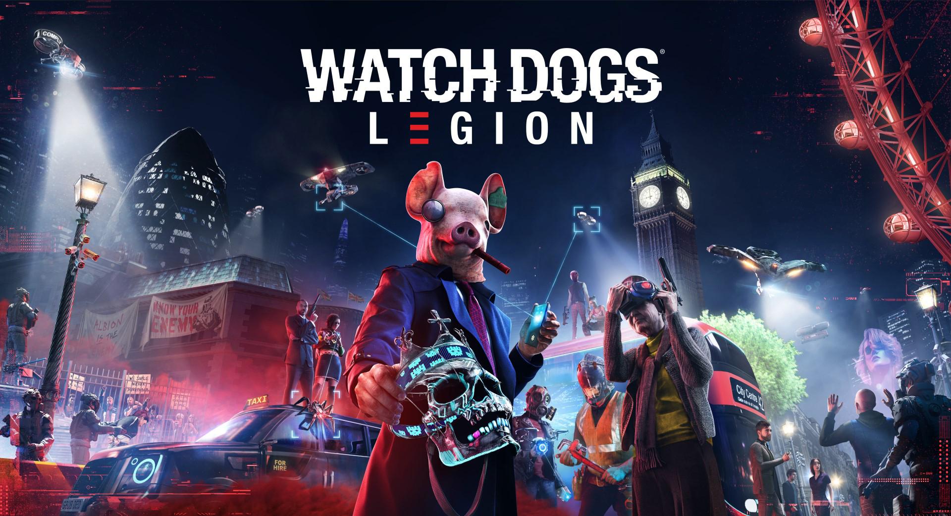 Ubisoft công bố Watch Dogs®: Legion sẽ có mặt vào ngày 29 tháng ...