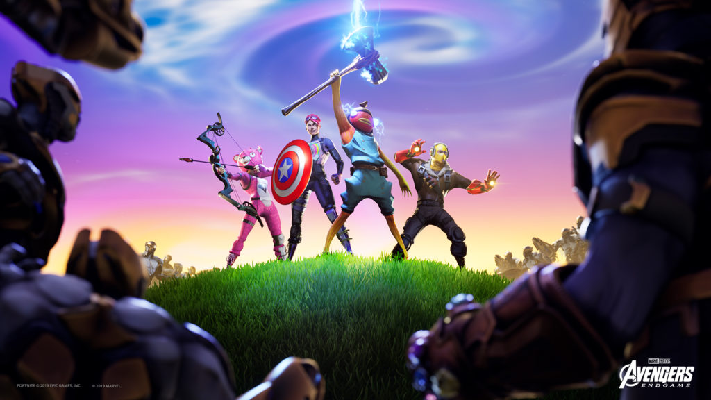 Marvel Fortnite Epic Games