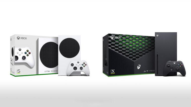Xbox-serie X Xbox-serie S.