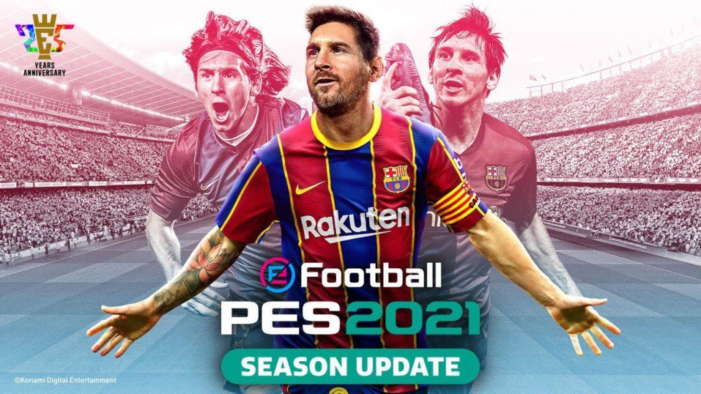 Pack de données eFootball PES 2021 3.0