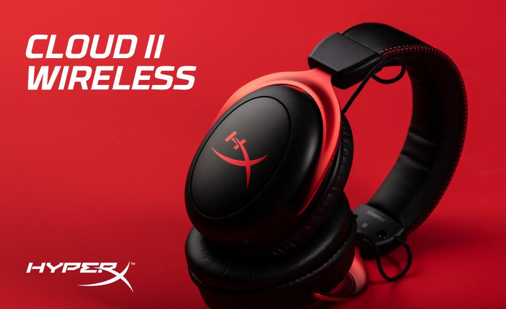 HyperX lança fone de ouvido para jogos Wireless Cloud II »Vamos falar sobre  videogames