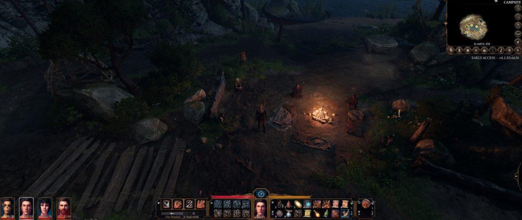 Camp D&D Baldur's Gate III