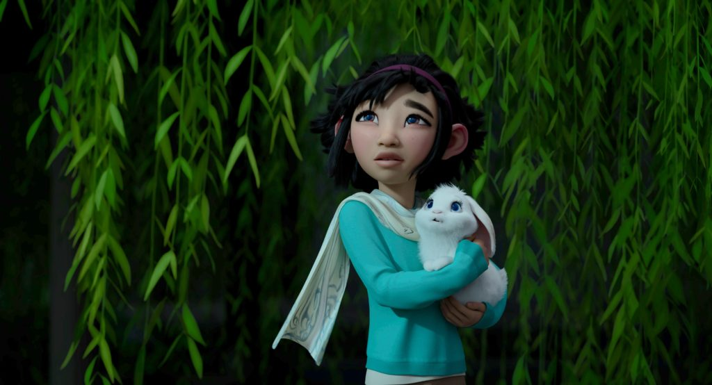 Over the Moon Netflix Review Animation Fei Fei