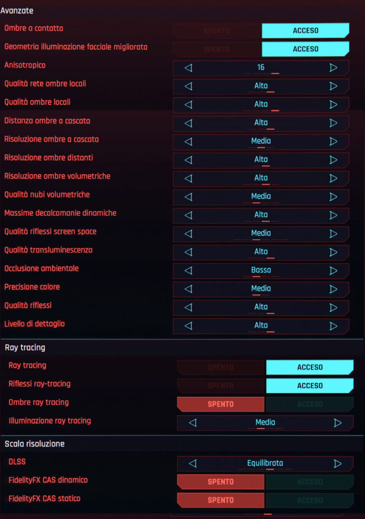 Cyberpunk 2077 optimized settings