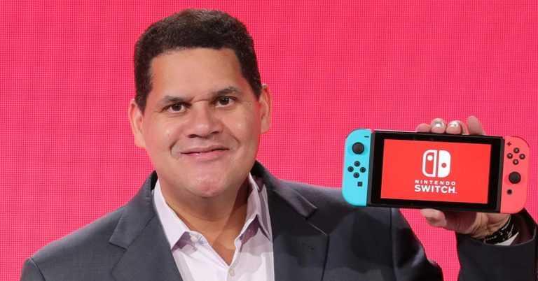 Nintendo Kanye West Reggie Fils-Aimé