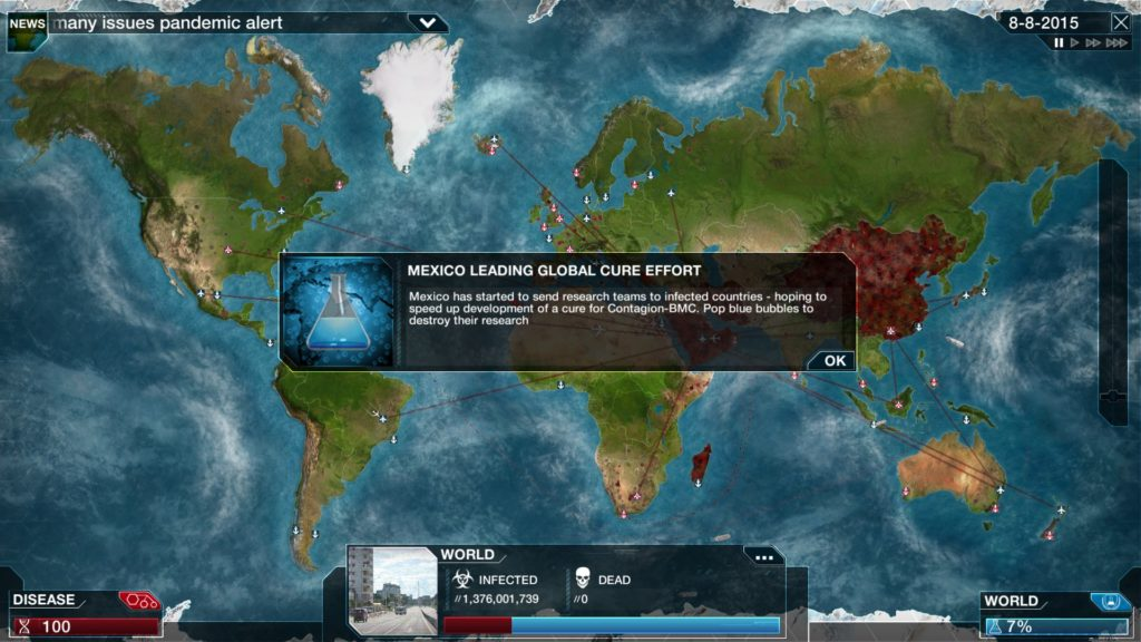 Plague Inc: La cura