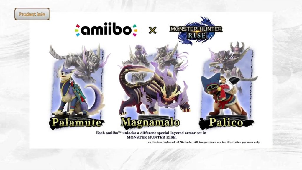 Monster Hunter Rise Amiibo