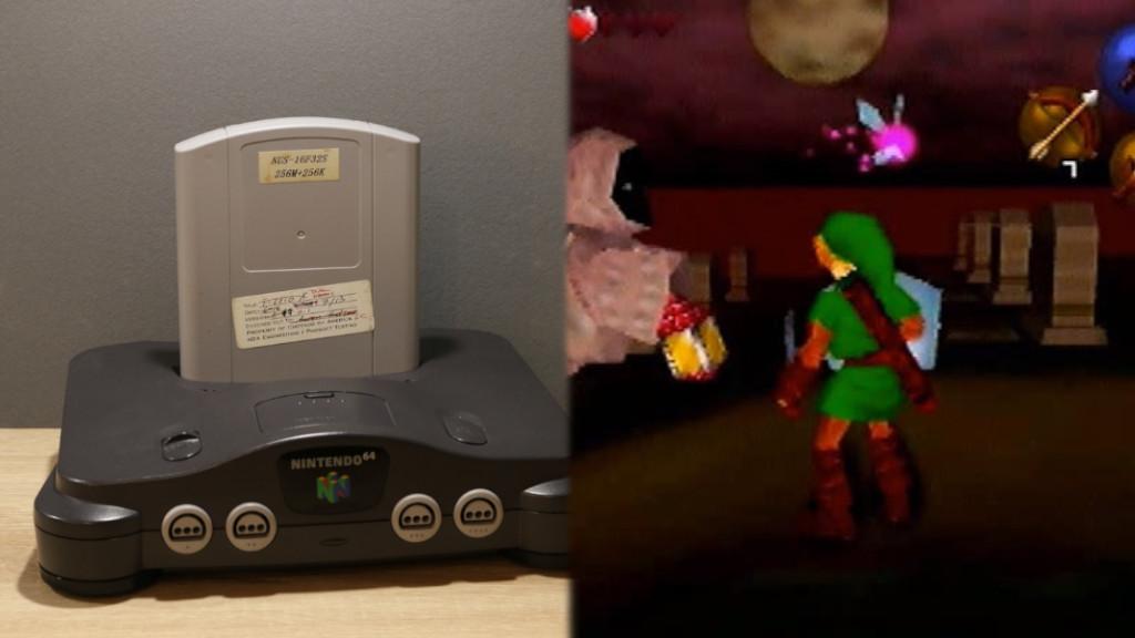 Die Legende von Zelda Ocarina der Zeit Nintendo 64 Beta