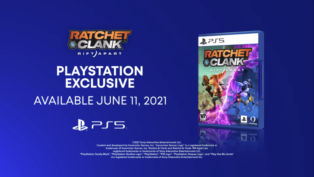 Ratchet & Clank Insomniac Games Media Molecule Dreams PlayStation 4 RIft Apart Gamescom PlayStation 5