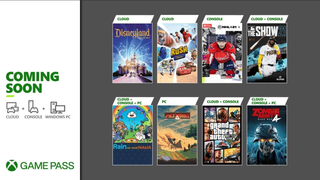 Xbox खेल GTA 5 पास