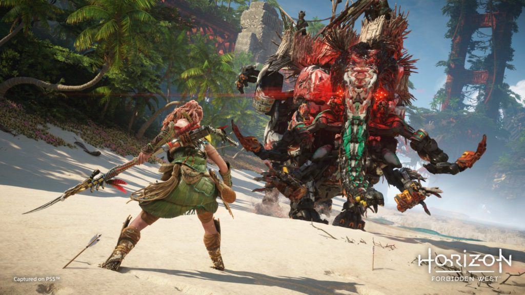 Sony Horizon Forbidden West Guerrilla Games State of Play Gameplay Playstation