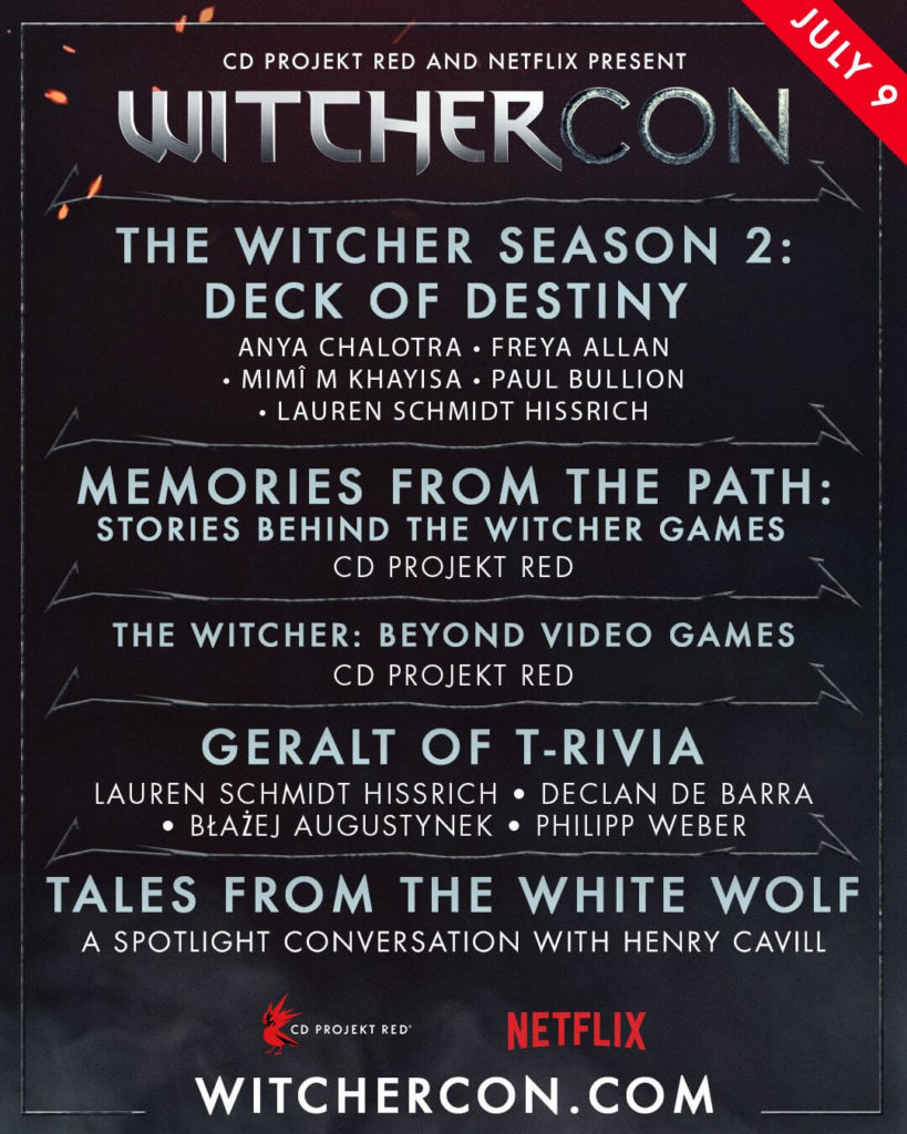 WitcherCon 2021 CD Projekt RED