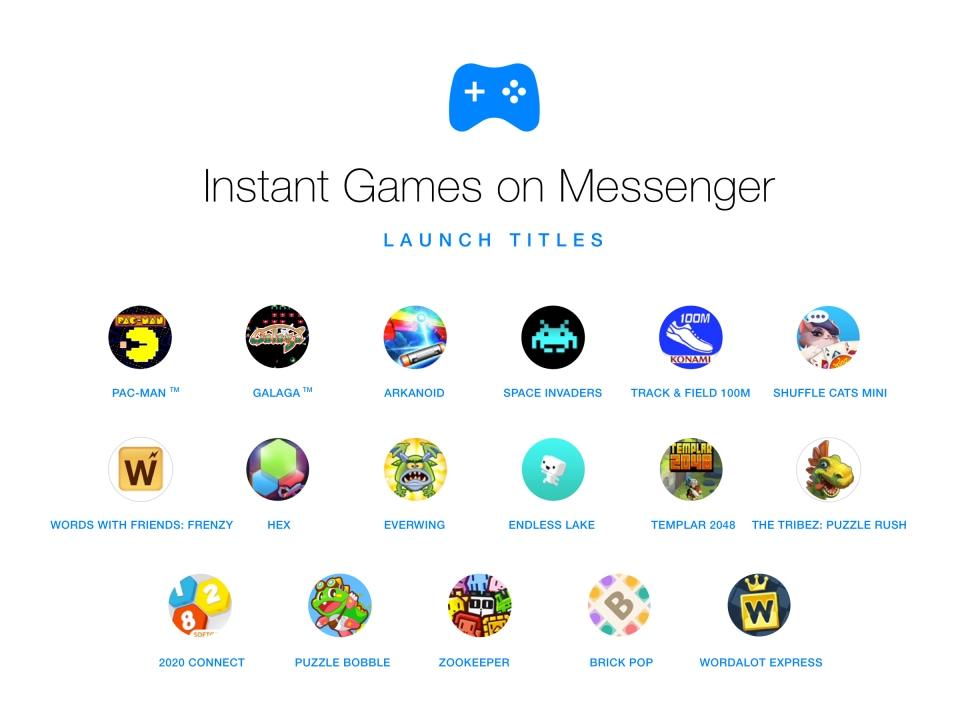 インスタントゲームFacebookクラウドゲーム