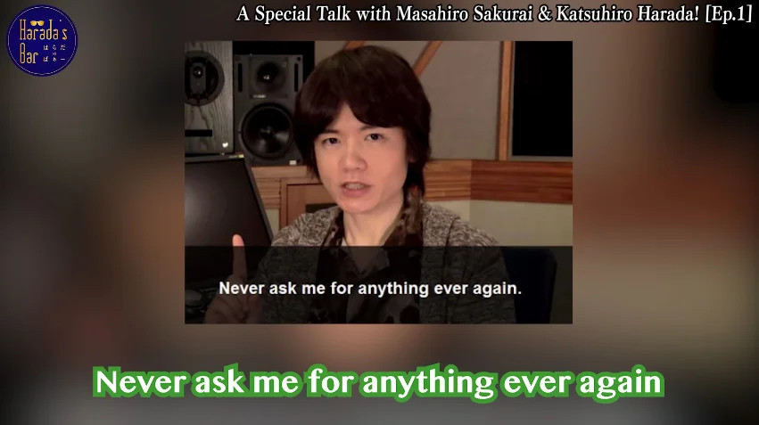Masahiro Sakurai 任天堂 Super Smash Bros Meme